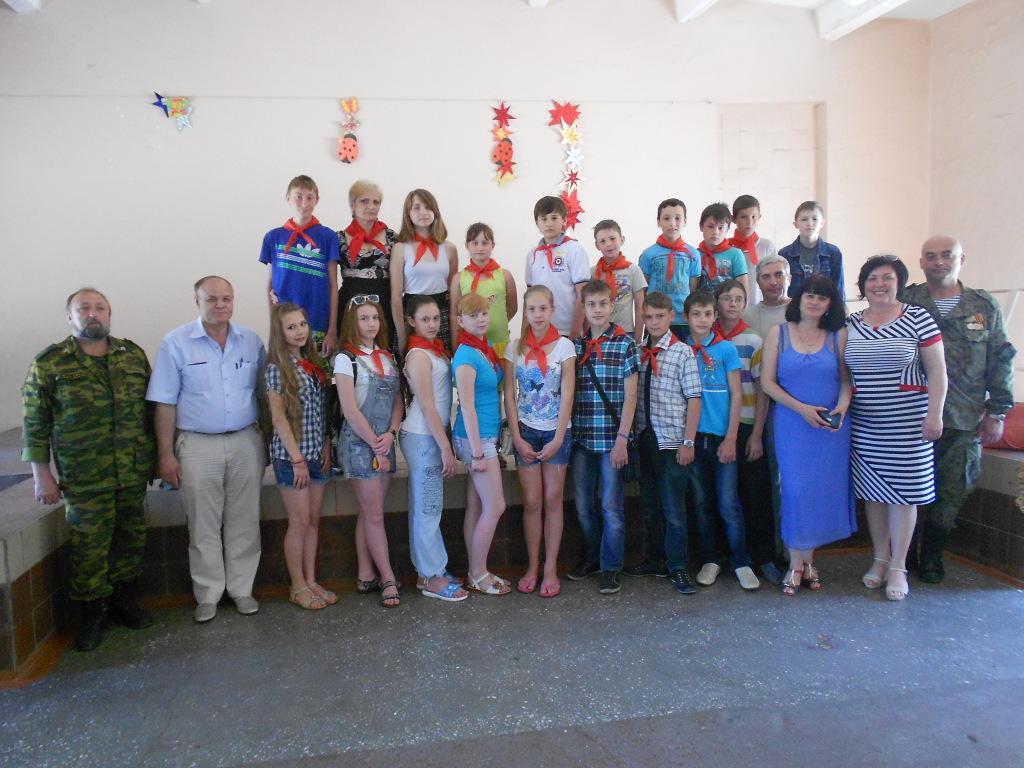 Секретарь ЦК РКРП-КПСС А.К. Черепанов совершил рабочую поездку в Донбасс