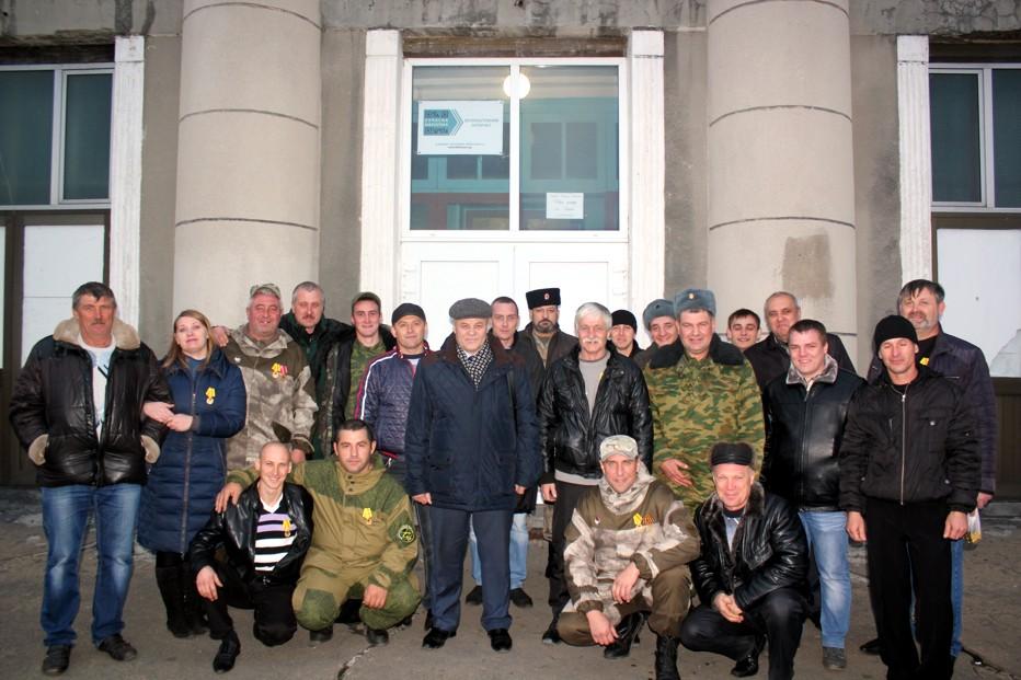 Ополченцы готовы дойти до Киева. А.К. Черепанов,  секретарь ЦК РКРП-КПСС.
