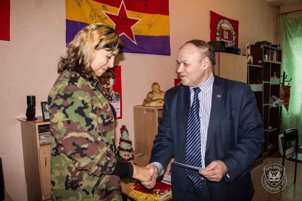 Очередная поездка секретарей ЦК РКРП-КПСС в Новороссию