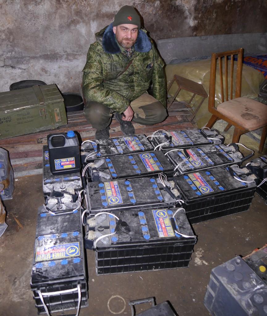 Благодарность от ополченцев Донбасса