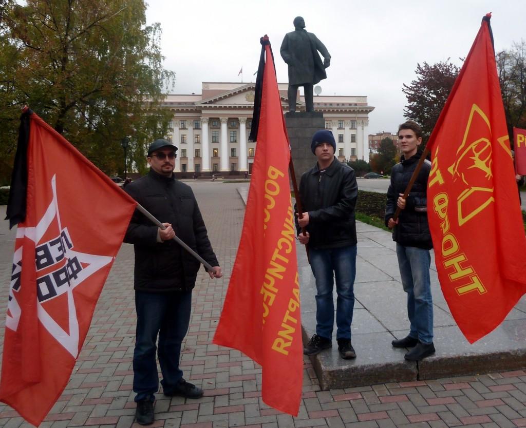 Тюменцы почтили память защитников Советской власти, погибших в октябре 1993 г.