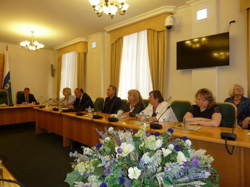 Встреча Комитета протестных действий г. Тюмени с ВРИО губернатора области А.В. Моором