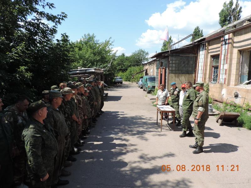 А.К. Черепанов на Донбассе 1-7 августа 2018 г.