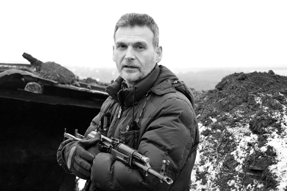 Алексей Марков, командир батальона Призрак на Донбассе