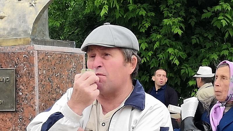 Д.В. Югов на митинге в Ишиме 22 июня 2019 г.