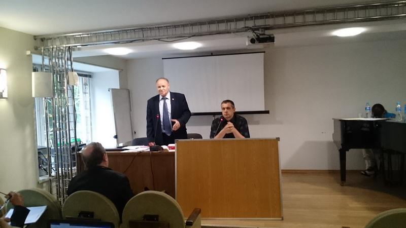 А.К. Черепанов выступает на Пленуме ЦК РКРП-КПСС 29 июня 2019 года.
