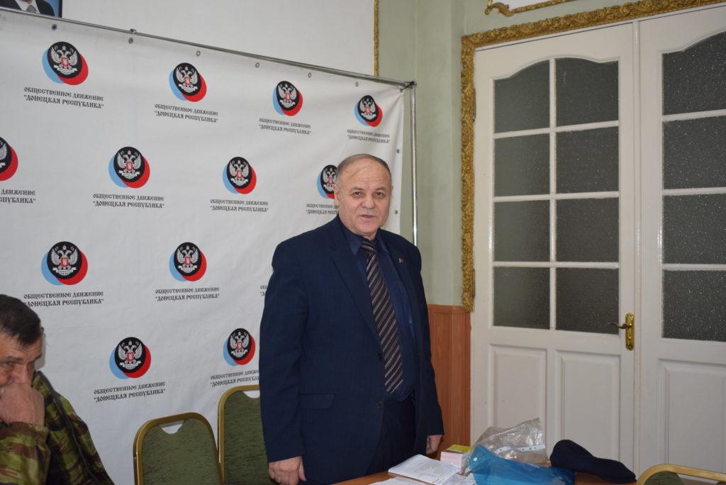 С народом Донбасса - вместе! А.К. Черепанов в ДНР, Донбасс