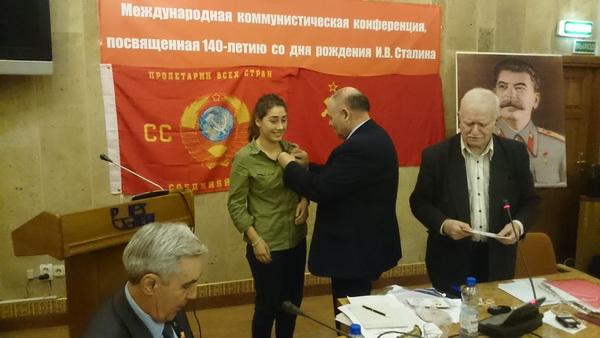 Информационное сообщение о конференции в Минске к 140-летию И.В. Сталина