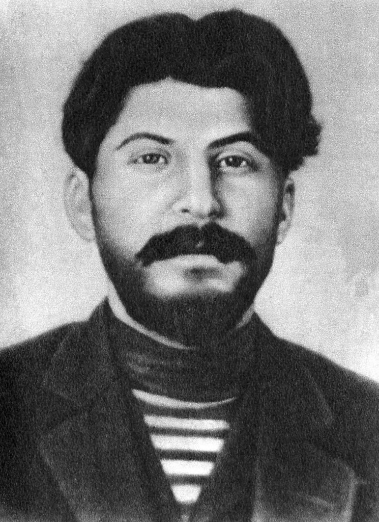 И.В. Сталин в молодые годы
